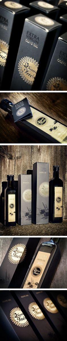 Santa Inés Olive Oil by estudioversus
