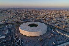 The Al Thumama Stadium in Doha designed by Qatari architect Ibrahim M Jaidah has been inaugurated ahead of the FIFA 2022 World Cup.