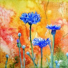 Watercolor Flowers | Kwiaty Akwarelowe - Krzysztof Kowalski -Watercolors