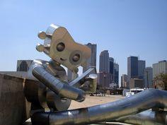 Guitar Man, Deep Ellum, Dallas, Texas by Andy New