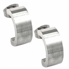 This gorgeous Curved Matte Earrings made of Stainless Steel is a great addition to any attire.