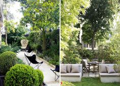 i could live here : a montmartre flat…with a garden!