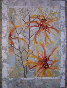 Witch Hazel-Jelena by Ruth B. McDowell. International Quilt Study Center & Museum 2015 Exhibition.