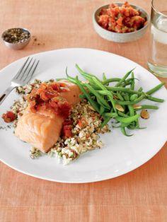 Recipe: Slow-Roasted Salmon with Tomato-Ginger Jam: Organic Gardening