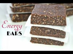 Super Easy 3 Ingredient Energy Bars - PositiveMed