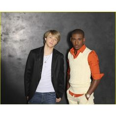 Sterling Knight and Brandon Smith ❤ liked on Polyvore featuring sterling knight