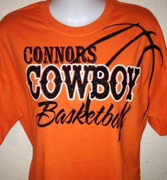Customized School Basketball Mom Bling Shirt . $20.00, Via Etsy.
