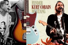 kurt cobain's guitar - Google Search
