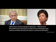 """White House Threatens Netanyahu: """"There will be a price"""" - See What They..."""