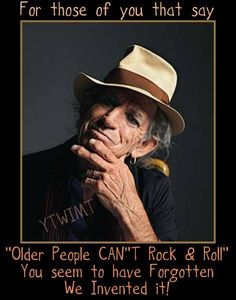 Keith Richards. Timeless.