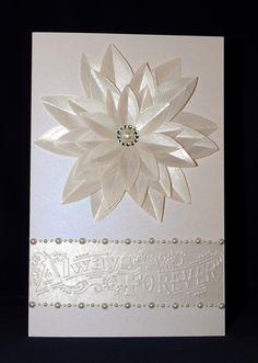 Mandy's Wedding Card - Handmade Card by Susan Sieracki