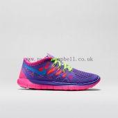 Fast Girls Nike Free 5.0 Hyper Grape/Hyper Pink/Volt/Photo Blue Temperament