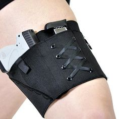 Concealed Carry Thigh Garter Gun Holster for Ladies