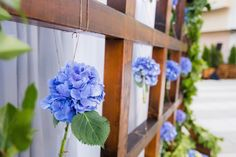 Use this easy to make Hydrangea installation for a nice modern color block at a wall! H Design, Design Ideas, Boston Marathon Bombing, Stunning Summer, Falling In Love With Him, Modern Colors, Tie The Knots, Celebrity Weddings, Hydrangea