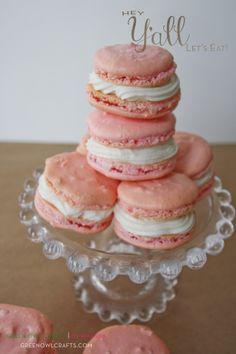 Easy Macarons recipe featured in Hey Y'all Let's Eat! {Sweets} cookbook.