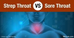 how to tell the difference between sore throat