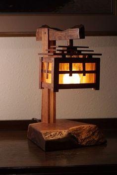 una lámpara en mi sala