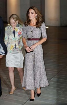 3d575ce702 Kate in Whistles Midi Polka Dot Dress for Teen Hero Reception - Dress Like  A Duchess