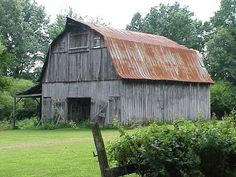 The Guardian Technology House is hidden inside an old barn in Winn Parish, Louisiana.