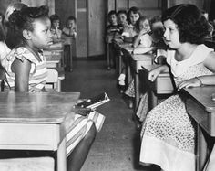 Brown vs.Board of Education, 1954 was the case of all cases. It was the First supreme court case where African American children were allowed to go to school with white children.