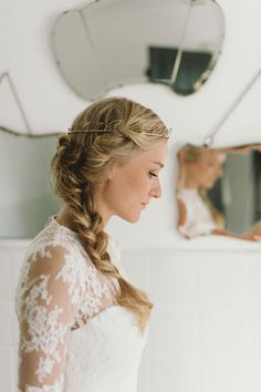 pretty hair // South African wedding   Photo by Love Made Visible   100 Layer Cake