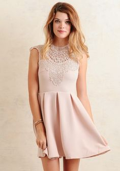 Pale pink dress under 60 dollars | from Ruche