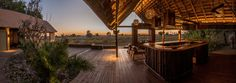ituated in a private concession in the Okavango Delta, Botswana, Chitabe Camp offers an abundance of game-viewing opportunities and exclusive tented accommodation. Okavango Delta, New Deck, Camps, Lodges, Wilderness, Safari, Wildlife, House Styles, Cabins