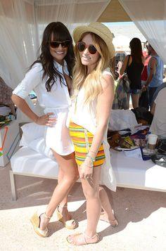 Lea Michele & Lauren Conrad