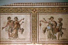 Bacchic Dancers - from Samandağı, (2nd-3rd century AD)