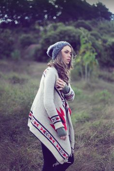 Boho, Native American, Aztec design sweater...whatever you wanna call it
