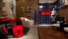 Sala de Banho e Banheiro Público