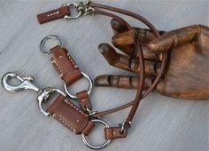 Leather Keychain Original Design Hand Made Mens от Grey56Leather