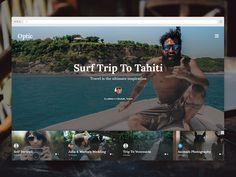 Optic WordPress Theme