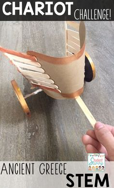 Chariot Challenge of Ancient Greece! Part of the Ancient Civilizations STEM Series!