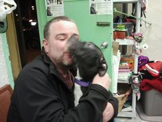 Diver found his forever home!
