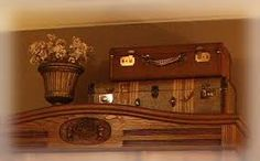 Image result for laundry room vintage suitcases