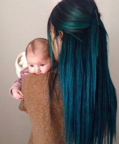 25 Refreshing Teal Hair Color Ideas - New Best Hairstyle - Voodoo hair color Informations About 25 erfrischende Teal Haarfarbe Ideen – Neue Besten Frisur Pin - Love Hair, Gorgeous Hair, Teal Hair Color, Turquoise Hair, Dark Teal Hair, Blue Green Hair, Rainbow Hair Colors, Teal Ombre Hair, Dyed Hair Blue