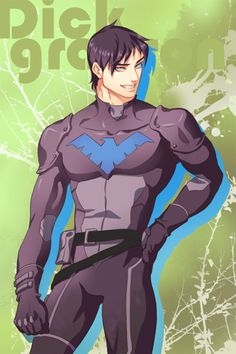 Dick Grayson AKA Robin (the Original) AKA Nightwing from DC Comics