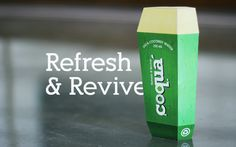 Coqua Coconut Water (Student Project) on Packaging of the World - Creative Package Design Gallery
