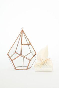 Diamond Terrarium with Kit :: abj glassworks :: koromiko