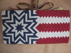 No- Sew Quilted Stars and Stripes Wall Hanging ( 12 x 6 inch) | Craft | YouCanMakeThis.com
