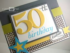 Pocket behind the joy fold card tute on splitcoaststampers 50th Birthday Wishes, Birthday Girl Meme, Birthday Wishes Messages, Birthday Cards For Him, Handmade Birthday Cards, Birthday Greetings, Handmade Cards, Birthday Party Table Decorations, Birthday Party Tables