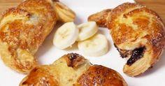 Pas d'idée de recette originale pour le goûter? Pas de panique, ces croissants fourrés à la banane et au Nutella vont très bien faire l'affaire! Mettez tout ...
