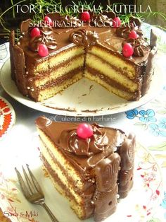 Nutella, Chocolate, Food Art, Tiramisu, Food And Drink, Sweets, Ethnic Recipes, Desserts, Crafts