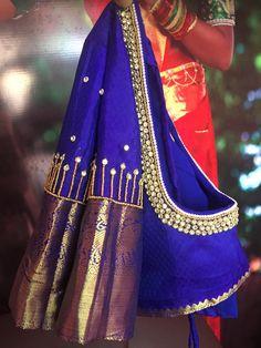 Cutwork Blouse Designs, Pattu Saree Blouse Designs, Simple Blouse Designs, Bridal Blouse Designs, Blouse Neck Designs, Hand Work Blouse Design, Aari Work Blouse, Blouse Designs Catalogue, Blouse Tutorial
