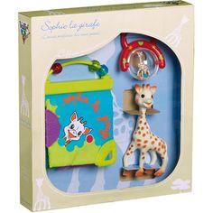 Vulli Coffret naissance jouets d'éveil bébé sophie la girafe