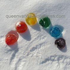 globos de hielo   the queen dice: