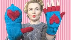 how to knitting fingergloves Finger Knitting, Knitting Yarn, Free Knitting, Knitting Patterns, Crochet Scarves, Knit Crochet, Convertible, Valentine Day Gifts, Valentines