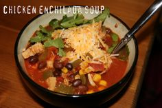 The Chronicles of Ruthie Hart: Chicken Enchilada Soup