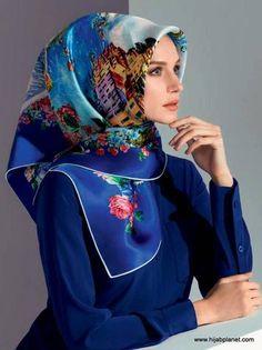Armine : Beauty is Modern Art - A Head Scarf from Turkey  - 1